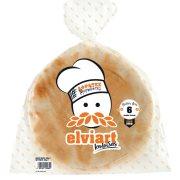 ELVIART Πίτες Αραβικές Μεγάλες 6τεμ 500gr