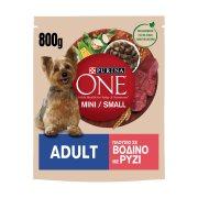 PURINA One Ξηρά Τροφή Σκύλου Adult Mini Μικρού Μεγέθους Βοδινό & Ρύζι 800gr