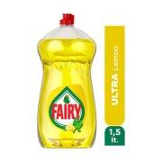 FAIRY  Απορρυπαντικό Πιάτων Υγρό Λεμόνι 1,5lt