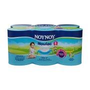 ΝΟΥΝΟΥ Noulac Γάλα Δεύτερης Βρεφικής Ηλικίας Prebiotic 3,2% Λιπαρά 6x400gr
