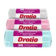 DROLIO Σακούλες Απορριμμάτων 46x56cm 25lt 30τεμ