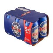 ΒΕΡΓΙΝΑ Μπίρα Lager 5x330ml +1 Δώρο