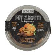TSANOS Μπισκόττι Διπλοφουρνιστά με Πορτοκάλι & Σοκολάτα 250gr