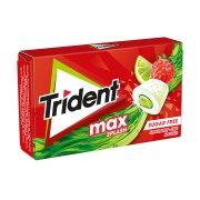 TRIDENT Max Splash Τσίχλες Φράουλα Λεμόνι 22gr