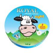 Κρεμώδες Τυρί ROYAL Light σε τρίγωνα 140gr