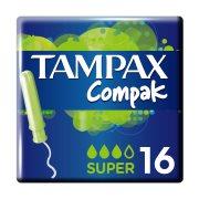 TAMPAX Compak Ταμπόν Super 16τεμ
