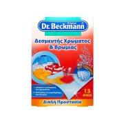 DR.BECKMANN Δεσμευτής Χρώματος & Βρωμιάς 15τεμ