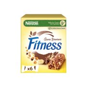 NESTLE Fitness Μπάρες Δημητριακών με Μπανάνα & Σοκολάτα 6x23,5gr