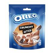 OREO Crunchy Bites Μπισκότα Γεμιστά με Κρέμα Βανίλια & Επικάλυψη Σοκολάτας 110gr
