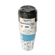 TEFACO Ποτήρια Χάρτινα με Καπάκι 413ml 10τεμ