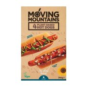 Φυτικά Λουκάνικα MOVING MOUNTAINS Hot Dog Vegan 240gr