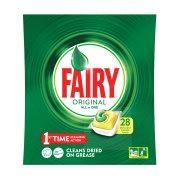FAIRY Original Απορρυπαντικό Πλυντηρίου Πιάτων Ταμπλέτες Λεμόνι 26τεμ