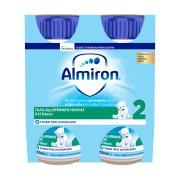 NUTRICIA Almiron Γάλα 2ης Βρεφικής Ηλικίας 6-12 Μηνών 4x200ml