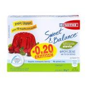 ΓΙΩΤΗΣ Sweet & Balance Φρουί Ζελέ Κεράσι με Στέβια Χωρίς ζάχαρη 20gr