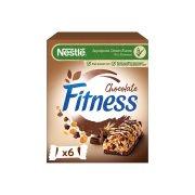 NESTLE Fitness Μπάρες Δημητριακών Σοκολάτα 6x23,5gr