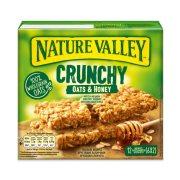 NATURE VALLEY Crunchy Μπάρες Δημητριακών με Μέλι 6x42gr
