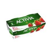 ACTIVIA Επιδόρπιο Γιαουρτιού 2% Φράουλα 2x200gr