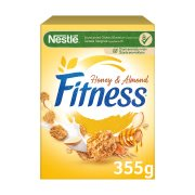 NESTLE Fitness Δημητριακά με Μέλι & Αμύγδαλα 355gr
