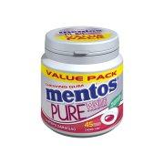 MENTOS Pure White Τσίχλες Cherry Mint 90gr