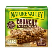 NATURE VALLEY Crunchy Μπάρες Δημητριακών με Σοκολάτα 6x42gr