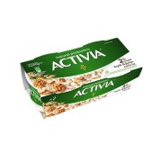 ACTIVIA Επιδόρπιο Γιαουρτιού 2% Καρύδι & Βρώμη 2x200gr