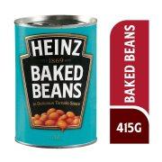 HEINZ Baked Beans Λευκά Φασόλια σε Σάλτσα Τομάτας 415gr