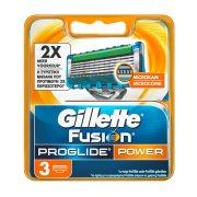 GILLETTE Ανταλλακτικές Κεφαλές Ξυρίσματος Fusion ProGlide Power 3τεμ