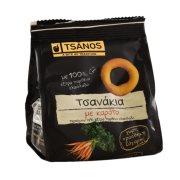 TSANOS Τσανάκια Κουλούρια με Καρότο 60gr