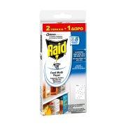 RAID Παγίδες Σκόρου για Τρόφιμα 2τεμ + 1 Δώρο