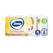 ZEWA Exclusive Χαρτί Υγείας Almond Milk 4 Φύλλων 8τεμ 766gr