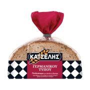 ΚΑΤΣΕΛΗΣ Ψωμί Πολύσπορο με Σίκαλη & Βρώμη σε φέτες 500gr