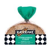 ΚΑΤΣΕΛΗΣ Ψωμί Σταρένιο με Σίκαλη σε φέτες 500gr