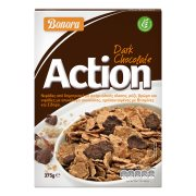 BONORA Action Δημητριακά Ολικής Άλεσης με Μαύρη Σοκολάτα 375gr