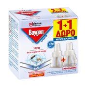 BAYGON Εντομοαπωθητικό Υγρό 60 Νύχτες Ανταλλακτικό 36ml +1Δώρο