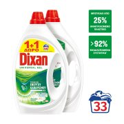 DIXAN Power Απορρυπαντικό Πλυντηρίου Ρούχων Τζελ Φρεσκάδα Άνοιξης 33 πλύσεις +1 Δώρο