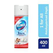 KLINEX 1ForAll Απολυμαντικό Σπρέι Cotton 400ml