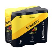 SCHWEPPES Αναψυκτικό Λεμόνι Περγαμόντο & Ιβίσκος Χωρίς ζάχαρη 6x330ml