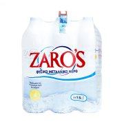 ZARO'S Νερό Φυσικό Μεταλλικό 6x1,5lt