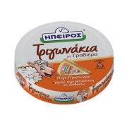 Κρεμώδες Τυρί ΗΠΕΙΡΟΣ με Γραβιέρα σε τρίγωνα 140gr