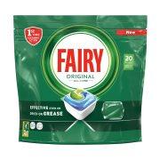 FAIRY Original Απορρυπαντικό Πλυντηρίου Πιάτων Ταμπλέτες Κανονικό 20τεμ