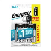ENERGIZER Μπαταρίες Max Plus E91 AA 4τεμ + 2τεμ Δώρο