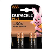 DURACELL Plus Αλκαλικές Μπαταρίες ΑΑΑ 4τεμ