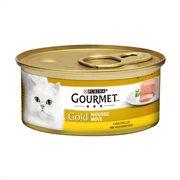 GOURMET Gold Υγρή Τροφή Γάτας Κοτόπουλο Μους 85gr
