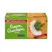 ΠΑΠΑΔΟΠΟΥΛΟΥ Cream Κράκερς Χωρίς ζάχαρη 165gr