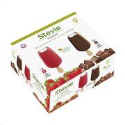 ΕΒΓΑ Stevie Παγωτό Ξυλάκι Σοκολάτα Φράουλα 6τεμ 216gr
