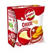 Ημίσκληρο Τυρί BABYBEL Cheese & Crackers 40gr