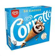 CORNETTO Παγωτό Classic 6τεμ 360gr (540ml)