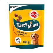 PEDIGREE Tasty Minis Σνακ Σκύλου Chicken & Duck Chunks 130gr
