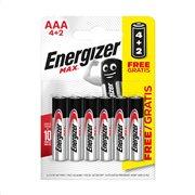 ENERGIZER Μπαταρίες Max E92 AAA 4τεμ +2τεμ Δώρο