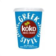 KOKO Greek Style Επιδόρπιο Φυτικό Καρύδας Vegan Χωρίς γλουτένη 400gr